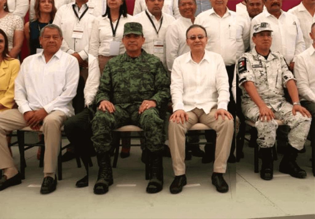 Miembros del gabinete de seguridad de México