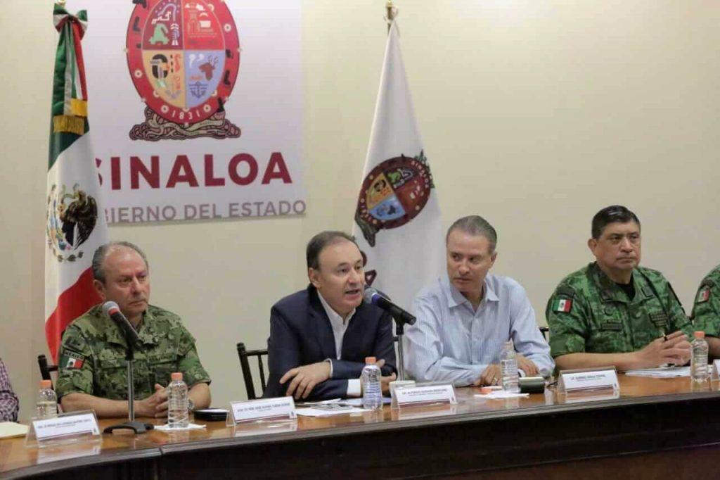 Gabinete de Seguridad en Culiacán